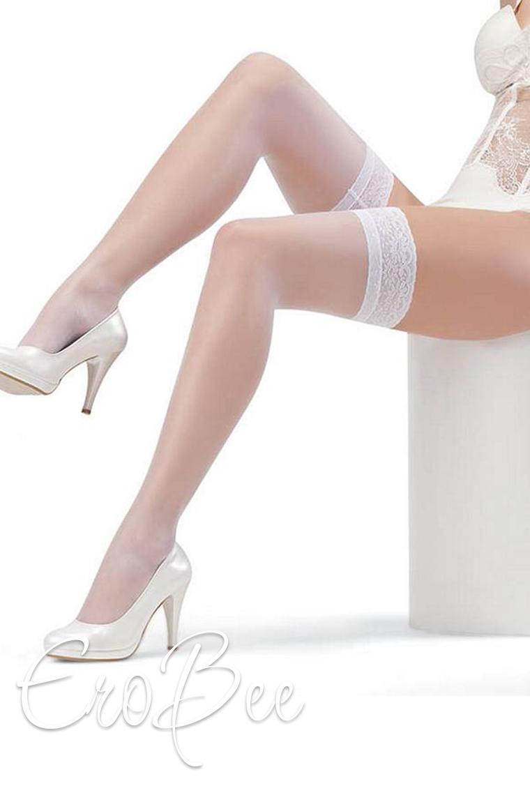 Foxy Dantelli Jartiyer Çorabı 2222-1