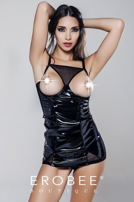 Moonlight Deri Elbise 9110-1