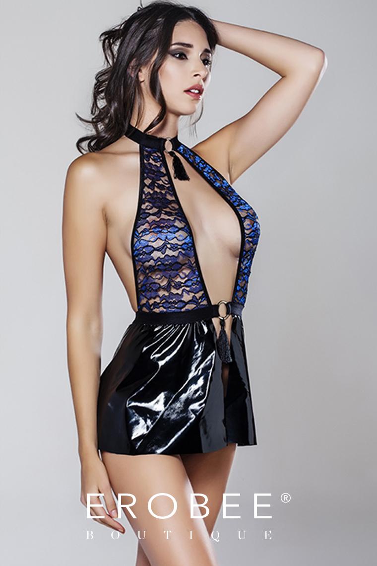Moonlight Deri Elbise 9222