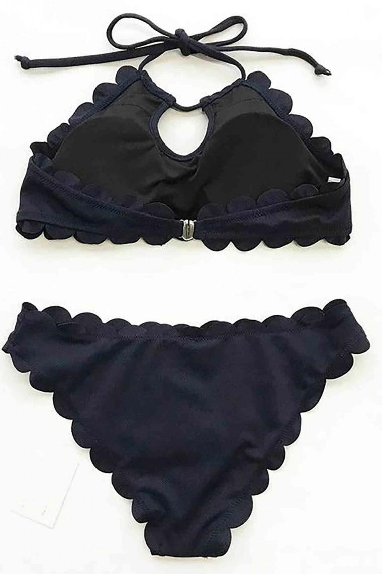 Tankini Bikini Takım 4290-Siyah