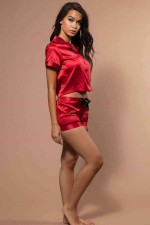 Şortlu Takım Kırmızı 2315