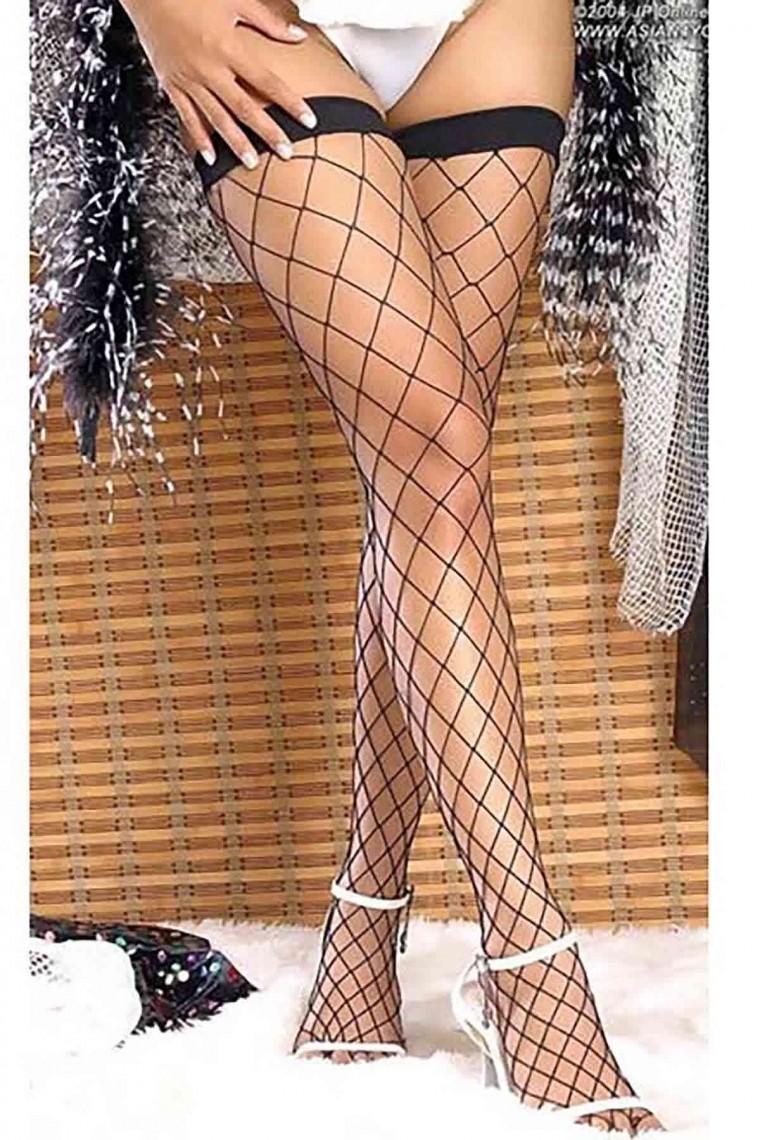 Merry See Jartiyer Çorabı Siyah 7905