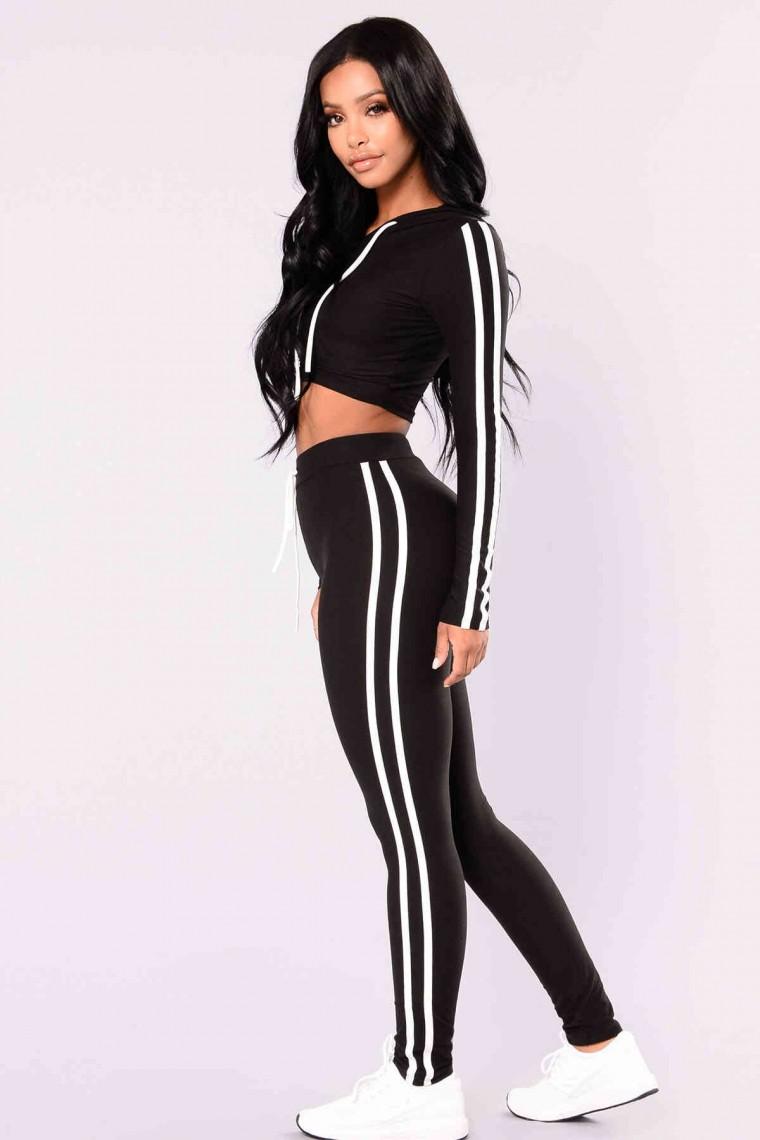 Kadın Pijama Takım Siyah 4050