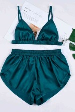Şort Takım Yeşil 3235