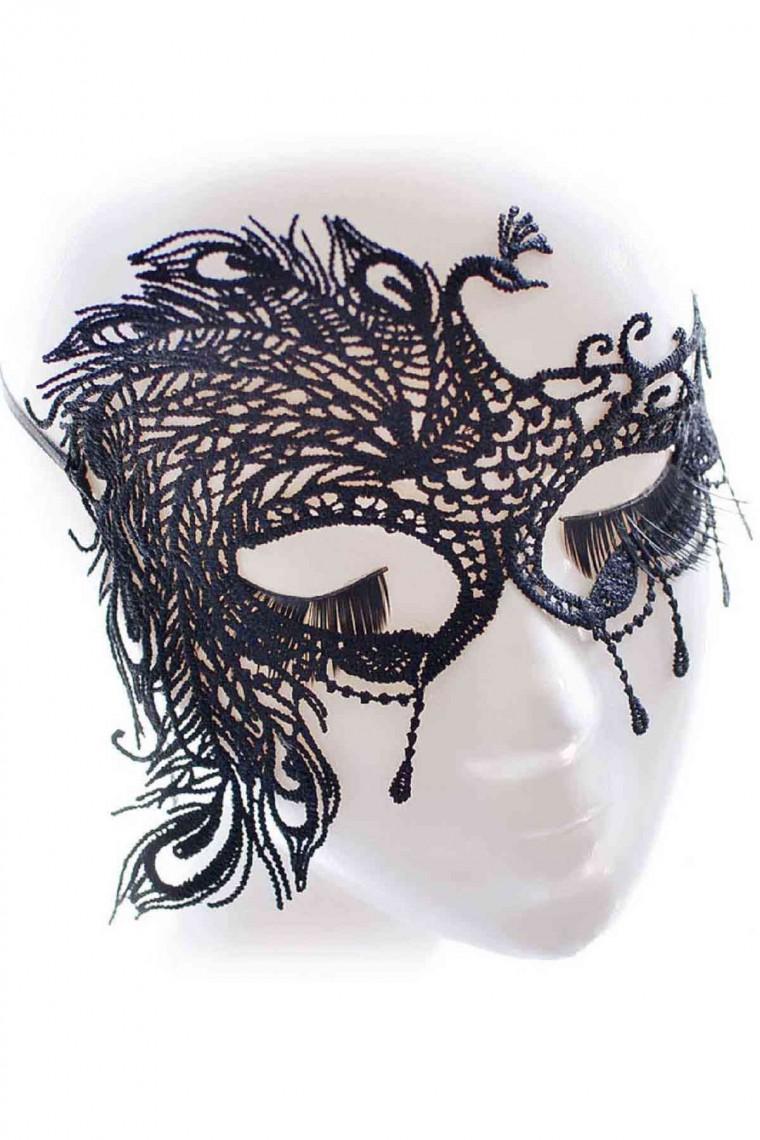 Merry See Özel Tasarım Dantel Göz Maskesi 0385-2