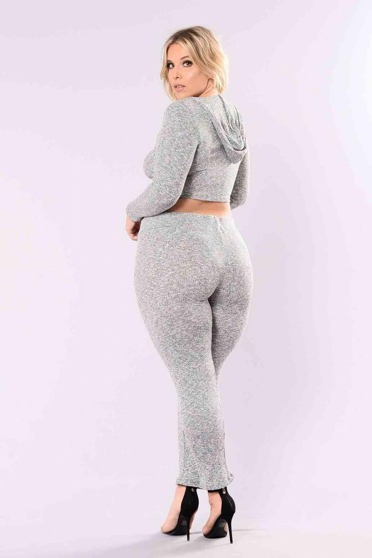 Kadın Pijama Gri 4051