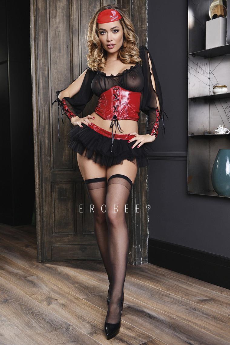 Elawin Korsan Kız Kostümü 8135