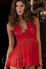 Merry See Kırmızı Babydoll 2658